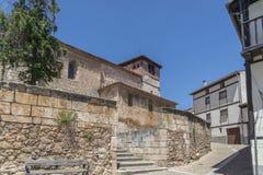 Burgos, Covarrubias Stock Images