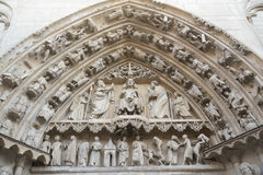 Burgos España: catedral imagen de archivo