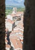 burgos frias Spain wioska zdjęcia royalty free