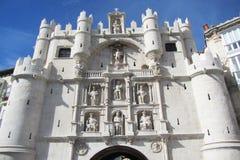 Burgos gate stock image