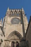 Burgos Hiszpania: katedra Zdjęcie Royalty Free