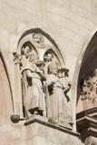 Burgos Hiszpania: katedra Zdjęcia Royalty Free