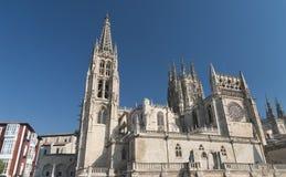 Burgos Hiszpania: katedra Obraz Royalty Free
