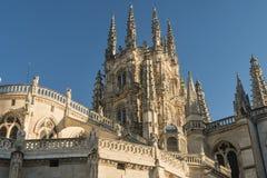 Burgos Hiszpania: katedra Zdjęcie Stock