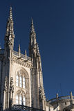 Burgos Hiszpania: katedra Obrazy Royalty Free