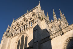 Burgos Hiszpania: katedra Obraz Stock