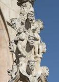 Burgos Hiszpania: katedra Obrazy Stock