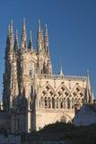 Burgos Hiszpania: katedra Zdjęcia Stock