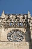 Burgos Hiszpania: katedra Fotografia Royalty Free