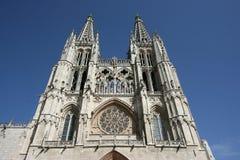 burgos katedra Fotografia Royalty Free
