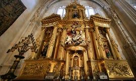 burgos katedra Obraz Royalty Free