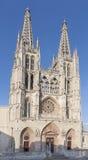 Burgos katedra, Hiszpania Obrazy Stock
