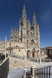 Burgos Katedra - Północny Hiszpania Obraz Royalty Free