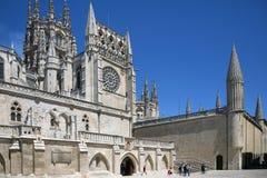Burgos Katedra - Północny Hiszpania Obrazy Royalty Free