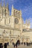 burgos katedra Spain zdjęcia stock