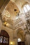 Burgos Katedralny wn?trze przy Burgos, Hiszpania zdjęcia stock