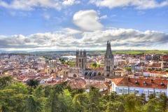 Burgos Kathedraal van Onze Dame stock foto