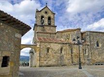 burgos kościelny frias fotografii Spain zapas obraz royalty free