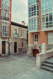 Burgos. A mix of old and new architecture in the center of Burgos, Castilla y León, Spain Royalty Free Stock Photography