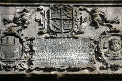 Burgos monument Royalty Free Stock Images