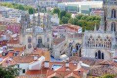 Burgos pani katedralna nasze Obrazy Stock