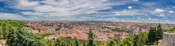Burgos panoramic Stock Photography