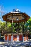 Burgos paseo espolon park in Castilla Spain Royalty Free Stock Photos