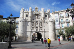 In burgos Royalty Free Stock Images