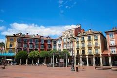 Burgos Plaza Mayor Stock Photos