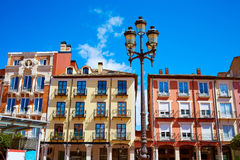 Burgos Plaza Mayor square in Castilla Leon Spain Royalty Free Stock Photo
