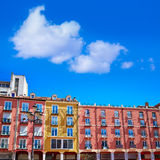 Burgos Plaza Mayor square in Castilla Spain Royalty Free Stock Photography