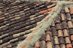 Burgos. A rooftop in Burgos, Spain Royalty Free Stock Image