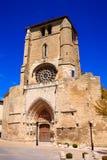 Burgos San Esteban church facade Castilla Spain Stock Photography