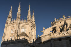 Burgos Spain: cathedral Stock Images