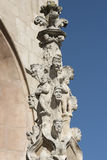 Burgos Spain: cathedral Royalty Free Stock Image