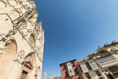 Burgos Spain: cathedral Stock Photos