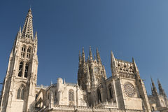 Burgos Spain: cathedral Stock Photos