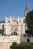 Burgos Spain: cityscape Royalty Free Stock Images