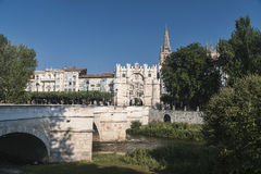 Burgos Spain: cityscape Stock Photo