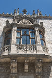 Burgos Spain: facade of historic building Stock Images