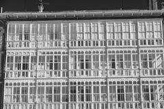 Burgos Spain: facade of historic building Stock Photo