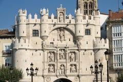 Burgos Spain: historic buildings Royalty Free Stock Images