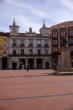 Burgos square Stock Photo