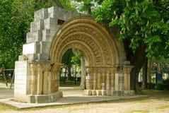 Burgos triumphal arch royalty free stock photography