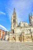 Burgos vår domkyrkalady Royaltyfria Foton