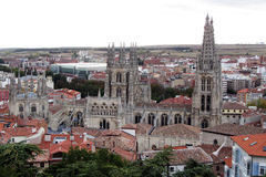 Burgos view Royalty Free Stock Image