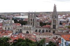 Burgos widok Obraz Royalty Free