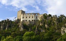 Burgruine Rauhenstein Castle Stock Images