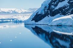 Burgs de glace Photos libres de droits