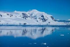 Burgs del hielo Foto de archivo libre de regalías
